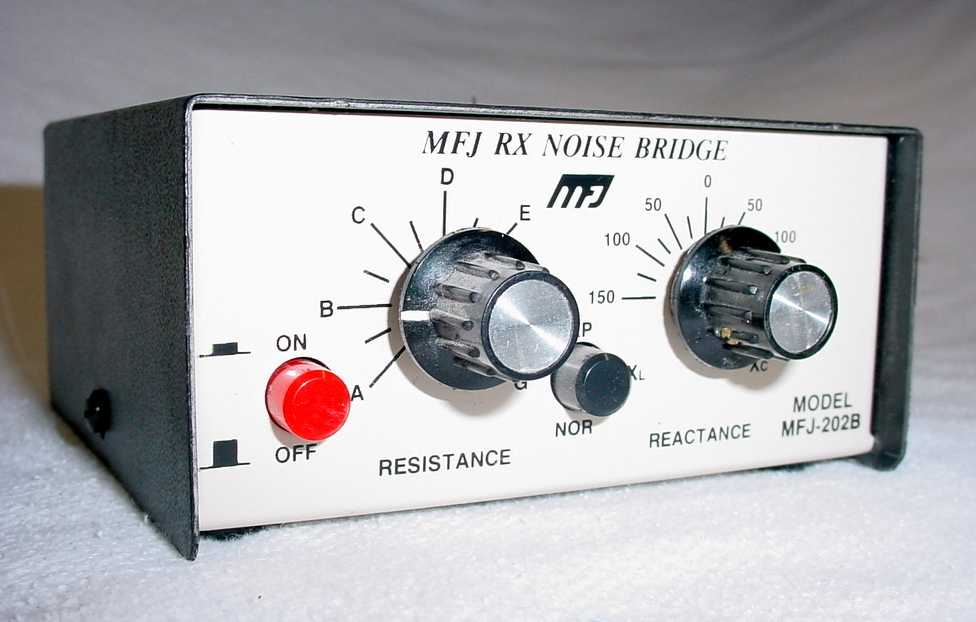 MFJ-202B RX Noise Bridge Antenna Measurements