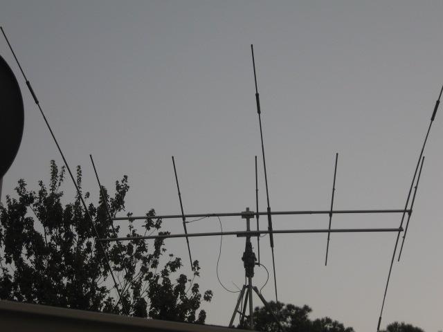 Mosley TA-33-JR-N beam at ~35ft