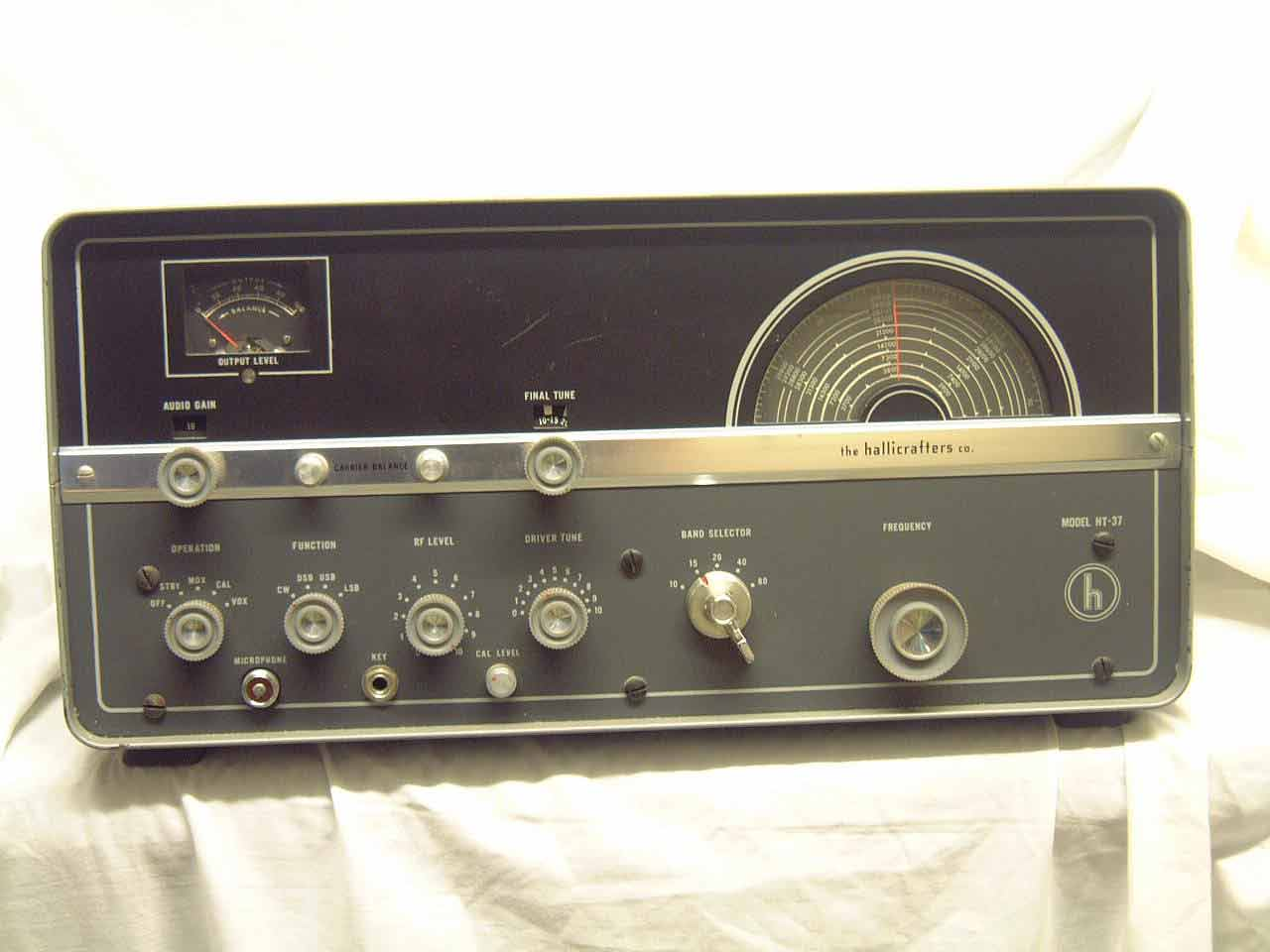 Hallicrafters Transmitters Ht Am Cw Ham Bands Transmitter