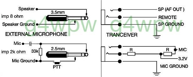 date – Icom Mic Wiring Diagrams