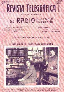 Portada de la Revista Telegráfica