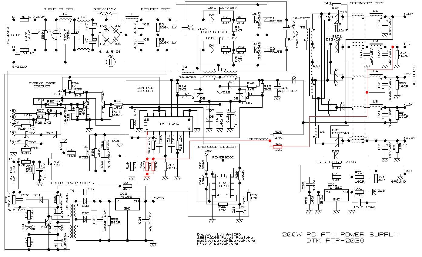 modificaci u00f3n de fuentes de pc para uso de radioaficionados