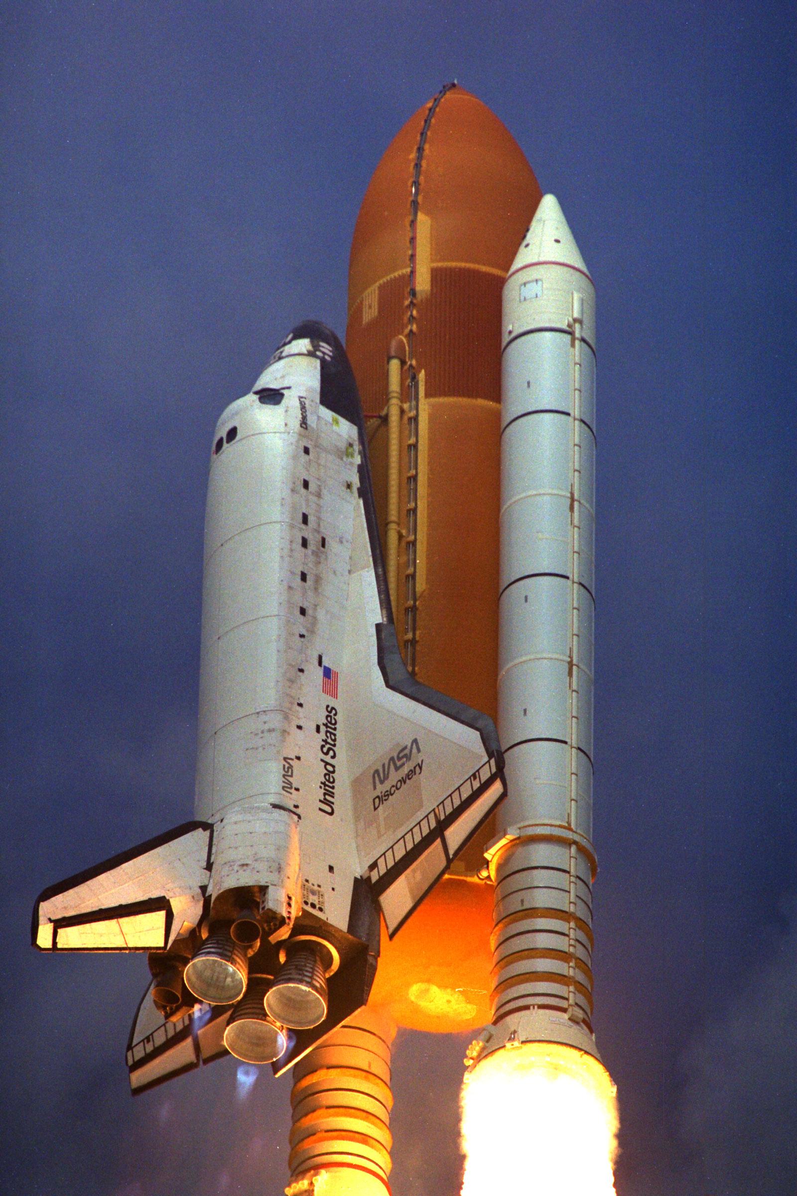 Despegue Del Transbordador Espacial
