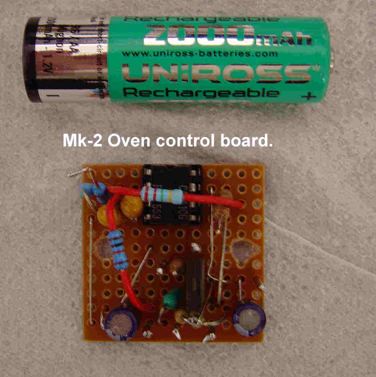 Crystal Ovens Homemade Oven Wiring Diagram Mk 2 Control Board Thumbnail