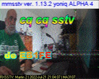 18-Apr-2021 18:11:04 UTC de MA3107