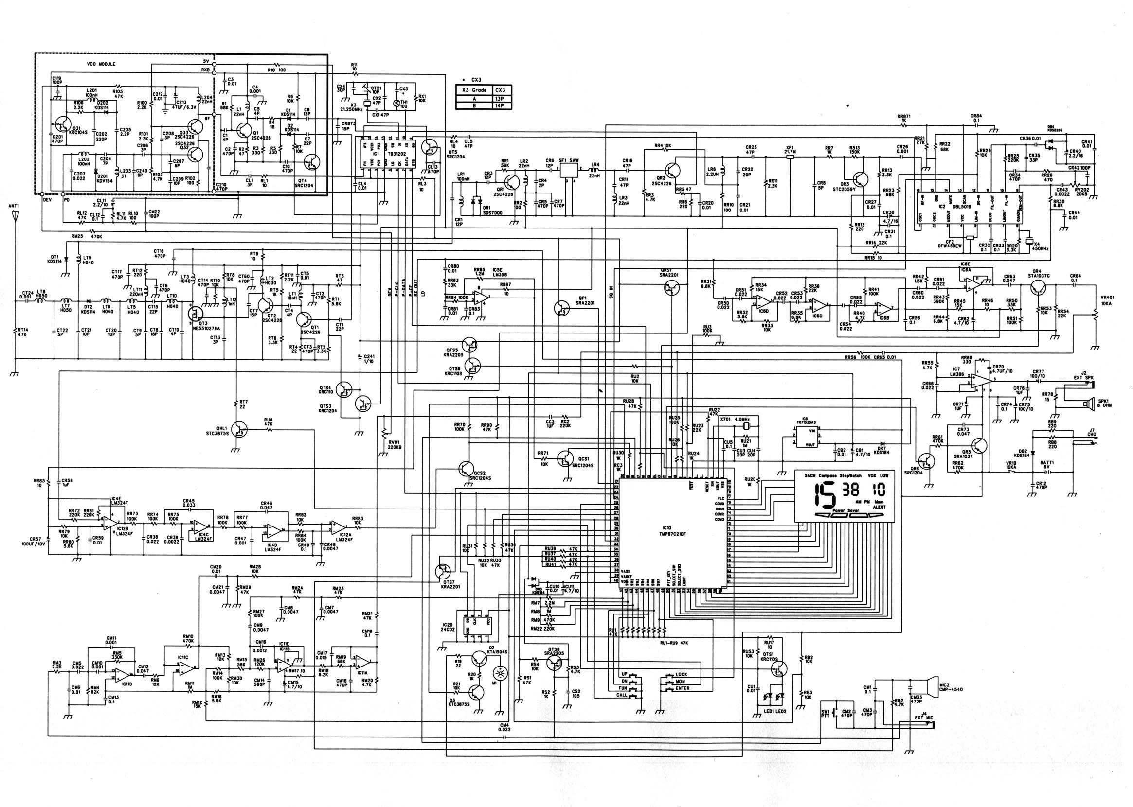 PR950DX_Schematic Radio S Schematic Diagrams on am tube radio, digital multimeter, samsung lcd tv, sony tv, hvac system, computer circuit board,