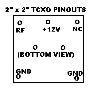 10 mhz tcxo stable time base