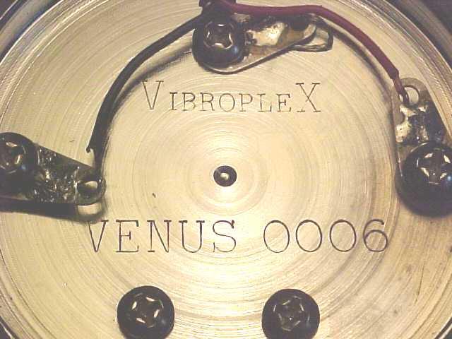 Vibroplex Name Plates