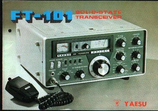 Yaesu ft-101 e and f restore