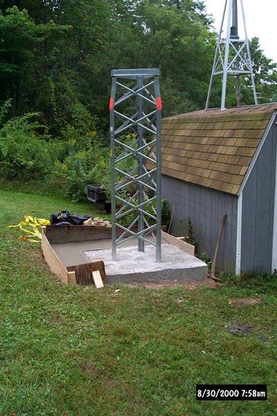 N2VR - Rohn HBX-48 Tower Install