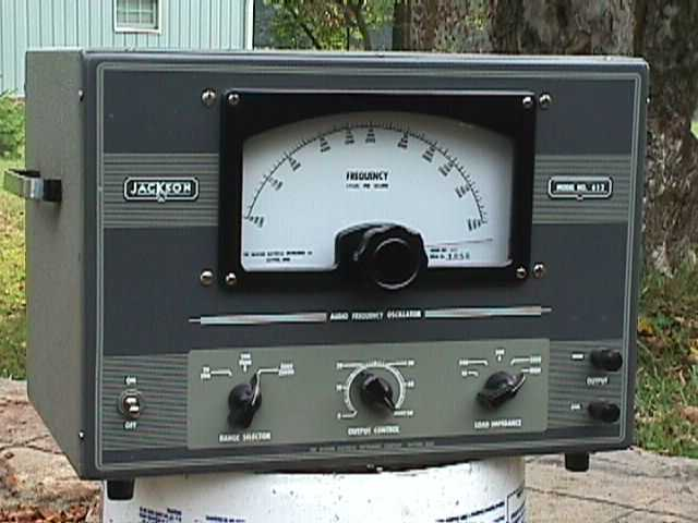 Audio Signal Generator : Test equipment
