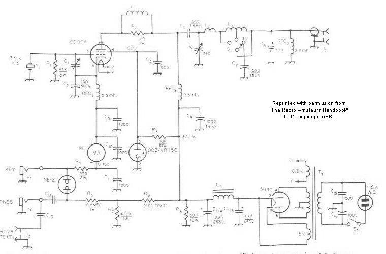 Pl509pl519 Half Bridge Base Driven Coil as well Ham Radio Am Transmitter Schematics furthermore J43nav moreover Inverter 100w 12v Dc To 220v Ac in addition 40 Meter Regenerative Receiver Schematic. on tube oscillator schematic