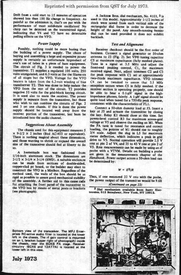 1966 wiring schematics n6ev s amateur radio glowbugs page  n6ev s amateur radio glowbugs page