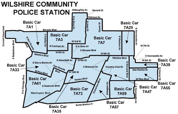 LAPD MAPS
