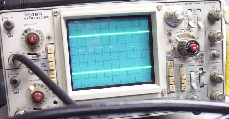 Old Oscilloscope Screen : Oscilloscope screen