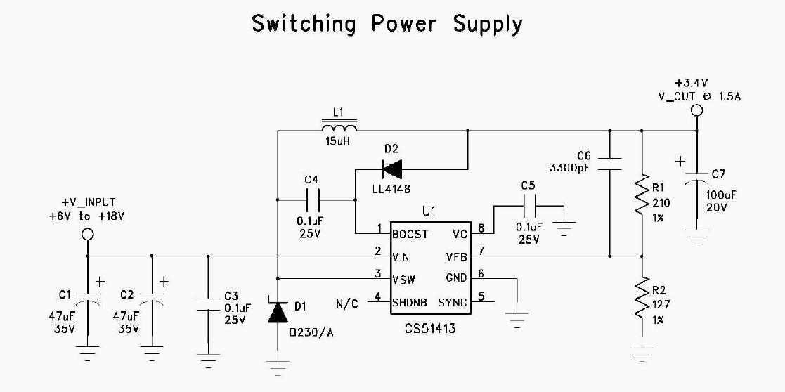 aerocomm cl4490 experiments cl4490 power supply schematic