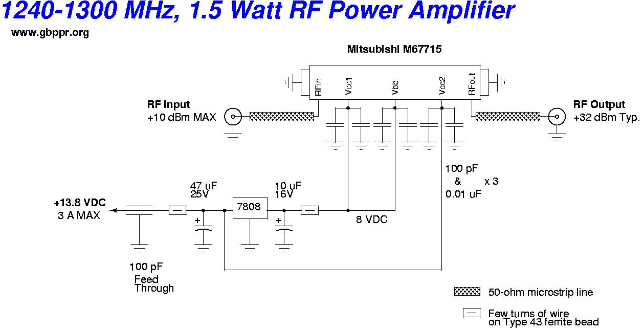 GBPPR 23cm 1 2 GHz ATV Video Transmitter