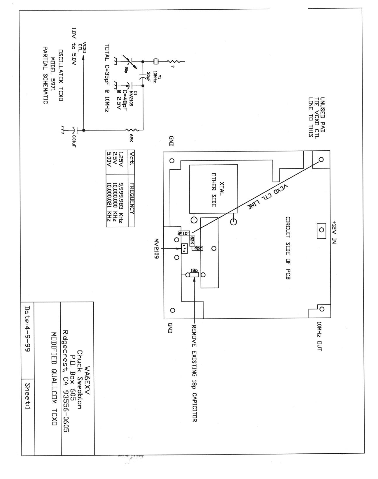 10 mhz tcxo stable time base