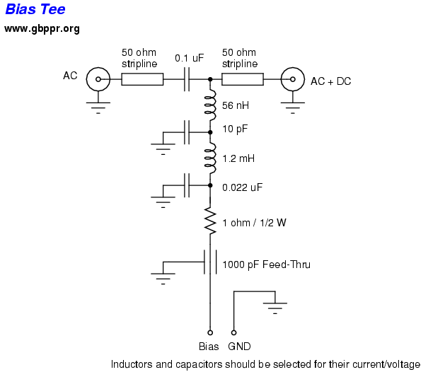 homebrew rf test equipment and software, schematic