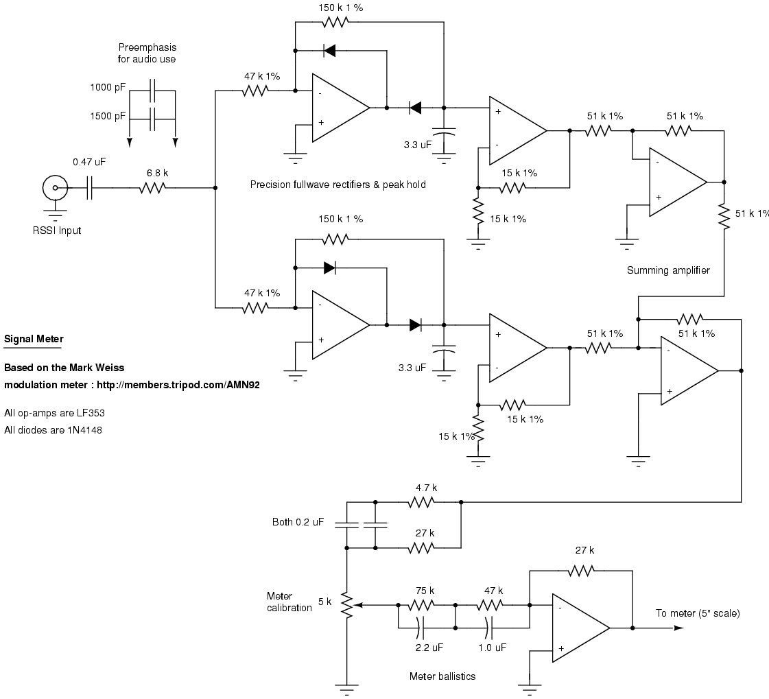 Homebrew Rf Test Equipment And Software Simple Bird Sound Generator Circuit Diagram Electronic Rssi Based Signal Meter Schematic
