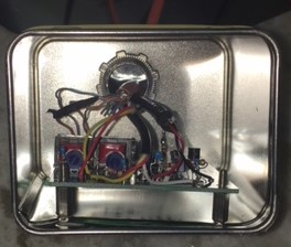 Inside Tea Tin