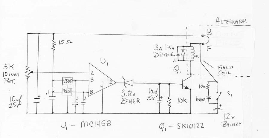 Modifying Alternator For Higher Voltages