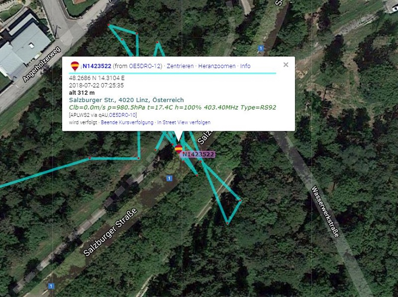 Kletterausrüstung Linz : Oe5dro sondenseite