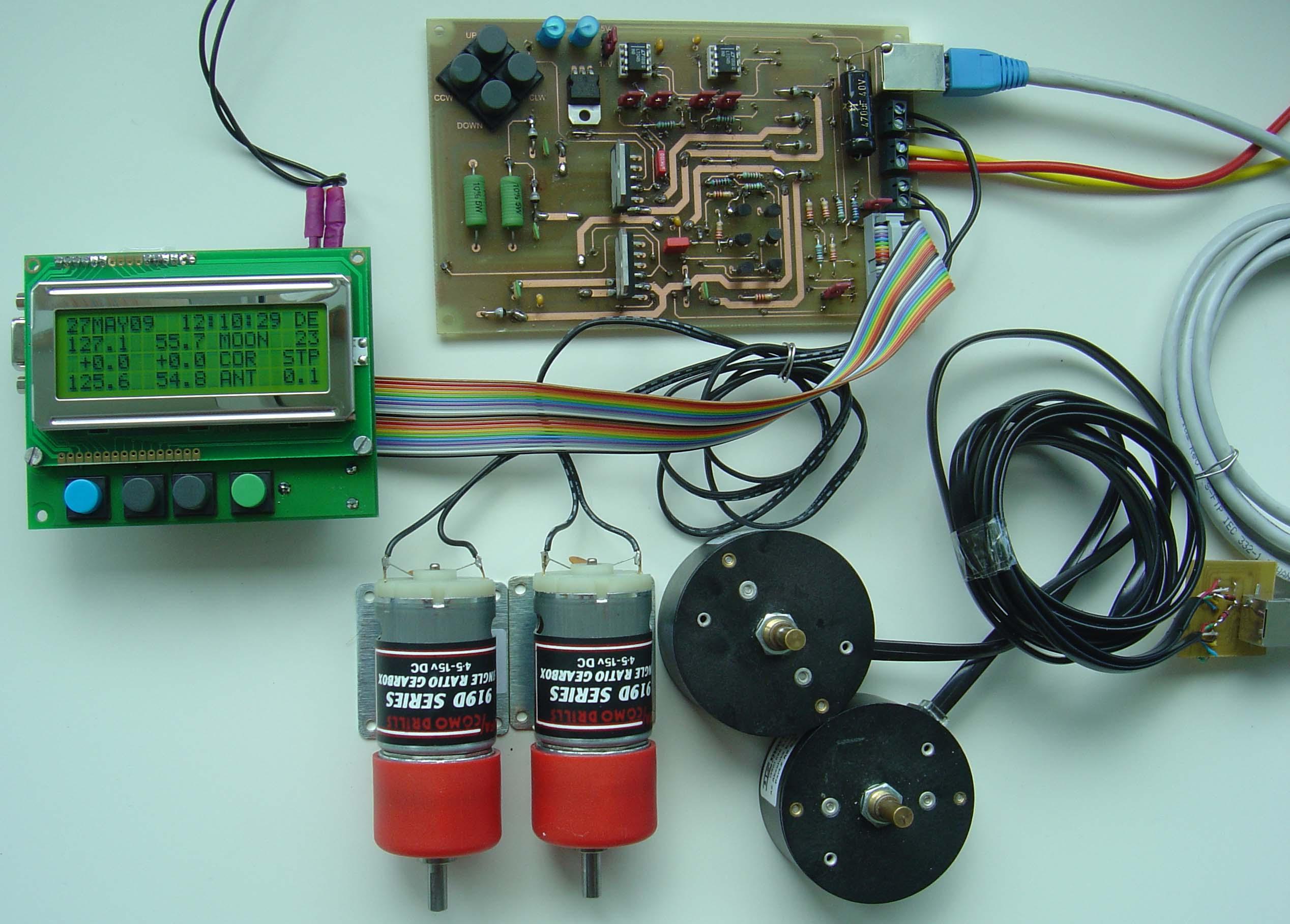 EME Antenna Control System,OE5JFL