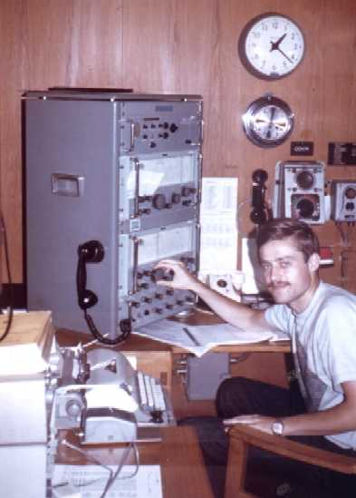 After army service, ham radio led to the profession of a Maritime Radio ...