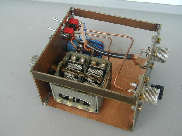 Minimalistic Sw Antenna Tuner Unit By Karel Julis Ok1uhu. You Should Have An Antenna Tuner For 7 To 28 Mhz Limited Possibilities In 80m Band Too Now Be Sure It's Well Done We Test It. Wiring. Long Wire Antenna Tuner Schematic At Scoala.co