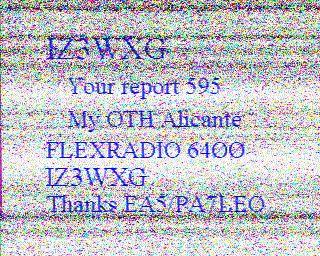 8th previous previous RX de ON5LG