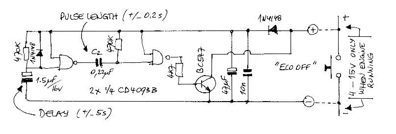 Start Stop Circuit Disable