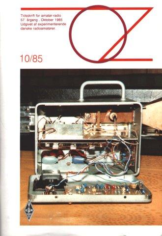 10 GHz portabel radio, bygget af OZ5NM Niels