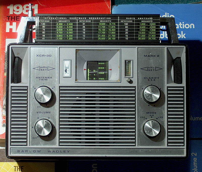 THE BARLOW WADLEY XCR-30 SHORTWAVE RECEIVER