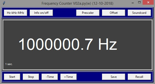 a simple frequency meter