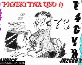 8th previous previous RX de PA3EKI