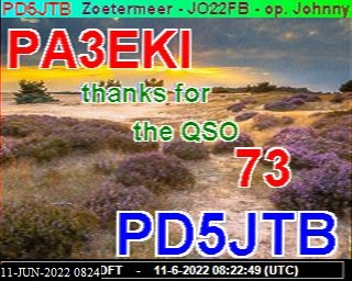 15-Jan-2021 11:29:05 UTC de PA3EKI