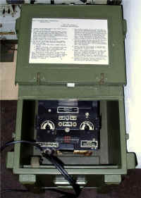 Signals Collection - US Army test equipment