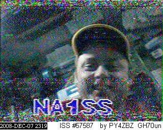 SSTV via satélite AO