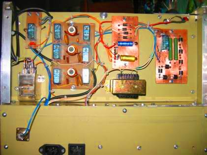 amplificateur decametrique fabrication f6dba. Black Bedroom Furniture Sets. Home Design Ideas