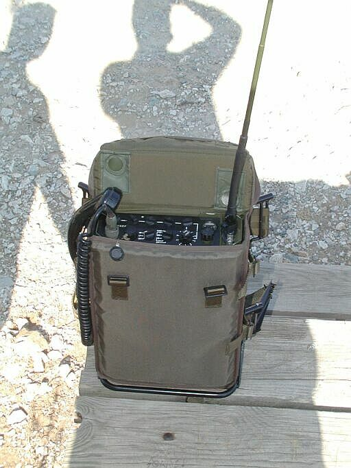 My RACAL PRM-4031 HF Manpack Radio