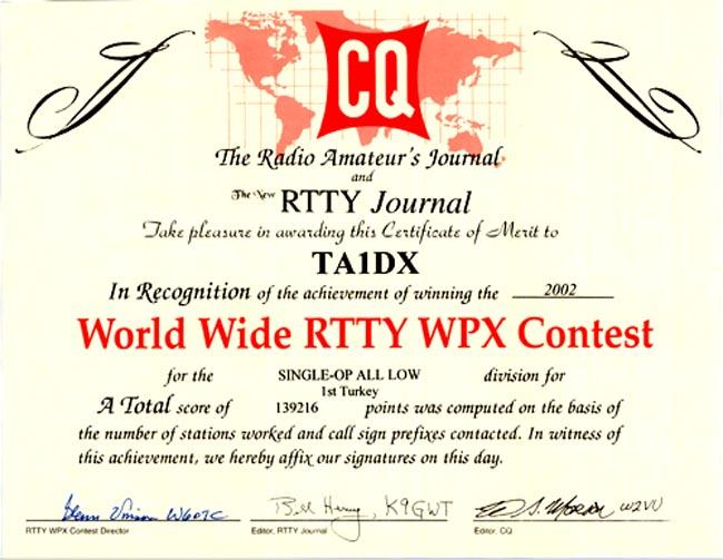 CQ WPX Contest - Home
