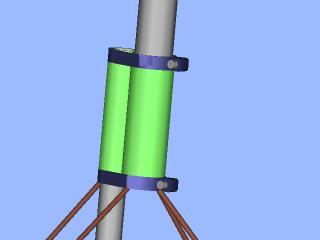 Antenna vertical 1/4 wave