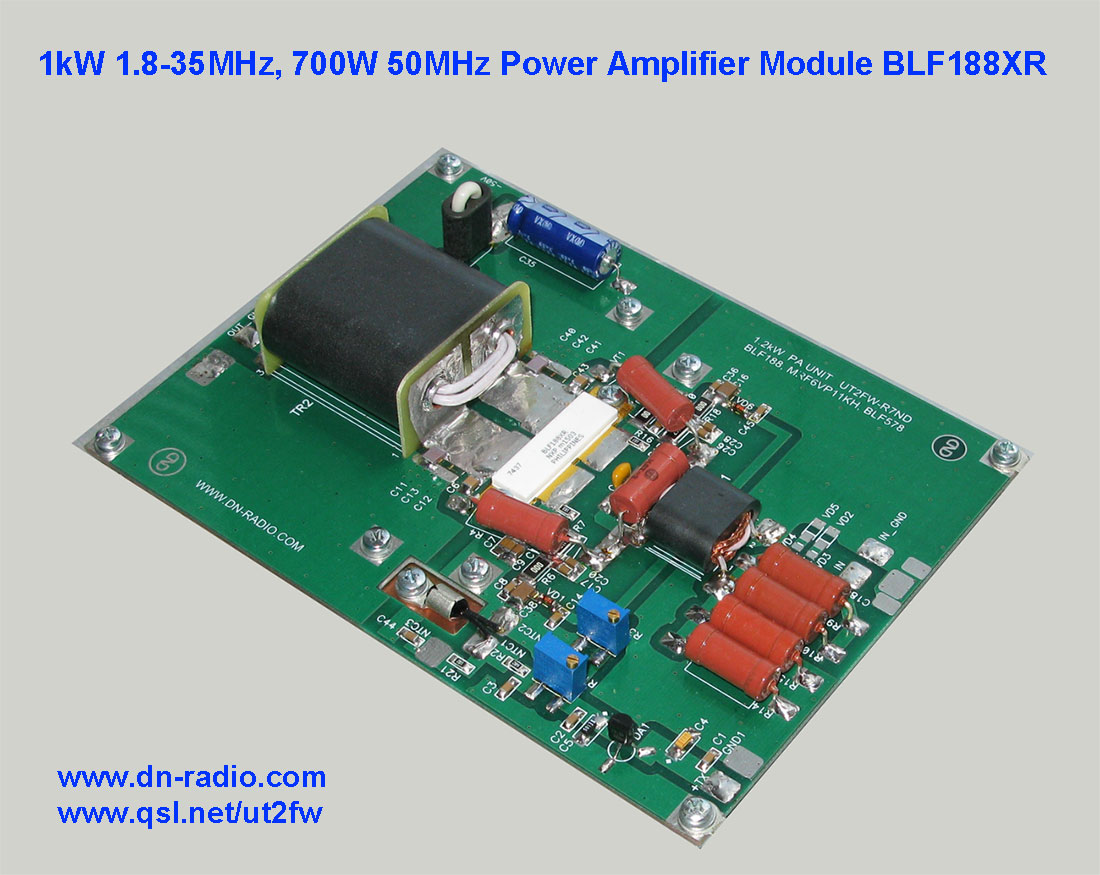 1kw 1 8 30mhz 700w 50mhz hf power amplifier board ldmos blf188xr blf188 ebay. Black Bedroom Furniture Sets. Home Design Ideas