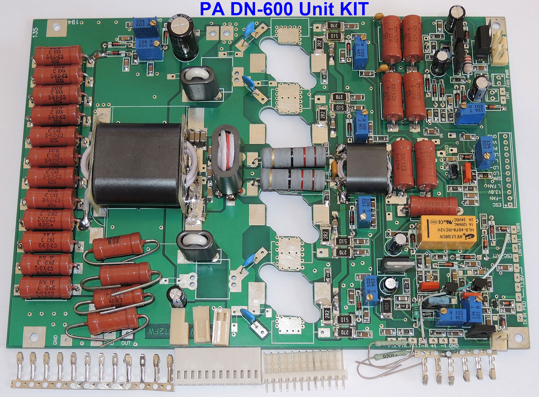 Hf linear amplifier kit