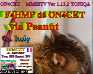 2nd previous previous RX de VE2HAR
