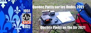 Quebec Parks on the Air 2021