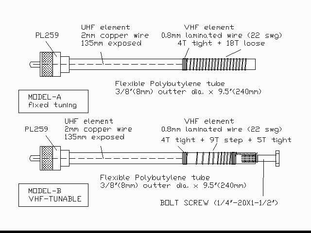 uvantdwg jpg rh qsl net  vhf uhf antenna circuit diagram