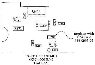 Modifications for the Kenwood TM-732