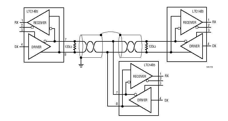 rs232 splitter schematic  rs232  free engine image for user manual download